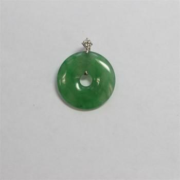 6105   -  GIA 24.08ct Natural Burma Jadeite Jade Type A
