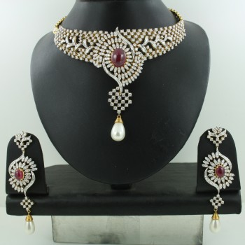 7106   - Bridal Diamond Necklace